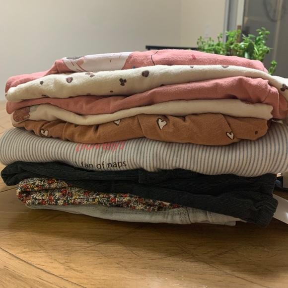 Zara toddler girl cloths 9 Pieces